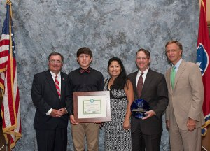 2014 Governor's Environmental Stewardship Award for Excellence in Education and Outreach medium
