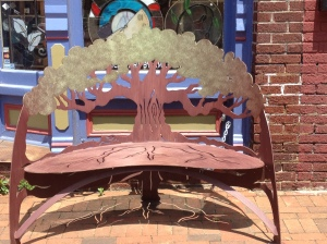 Indestructible Tree Bench